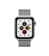 Apple Watch Series 5 40mm GPS+Cellular Stainless Steel Case with Milanese Loop