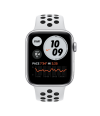 Apple Watch SE Nike+ 44mm GPS Silver Aluminum Case with Pure Platinum/Black Sport Band