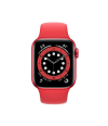 Apple Watch Series 6 40mm GPS PRODUCT(RED) Aluminum Case with Red Sport Band