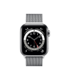 Apple Watch Series 6 40mm GPS+Cellular Silver Stainless Steel with Milanese Loop