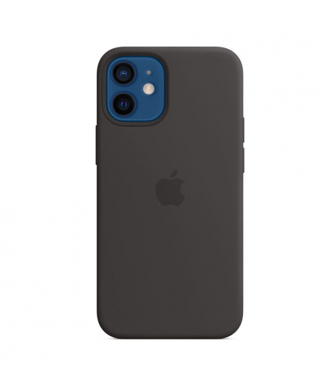 Чехол Apple Silicone Case для iPhone 12 Mini Black