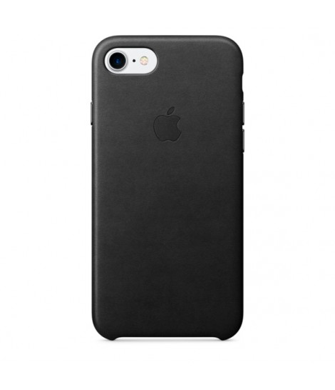 Чехол Apple Leather Case iPhone 7/8 Black