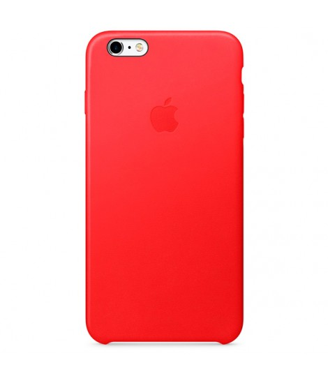 Чехол Apple Leather Case для iPhone 6 Plus/6s Plus, PRODUCT(RED)