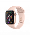Apple Watch Series 4 44mm GPS Gold Aluminum Case with Pink Sand Sport Band MU6F2