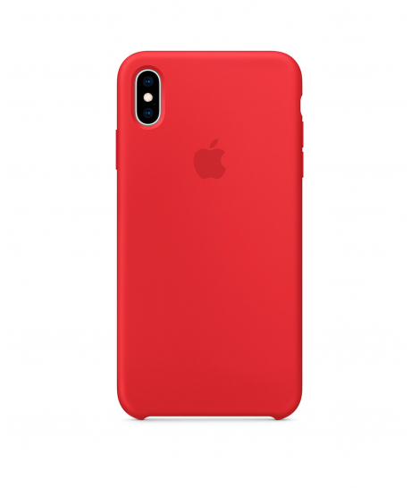 Чехол Apple Silicone Case для iPhone XS Max, (PRODUCT) Red