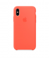 Чехол Apple Silicone Case для iPhone XS, Nectarine