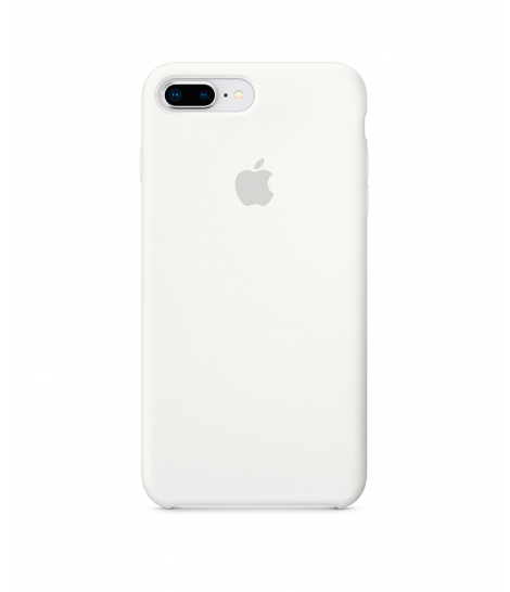 Чехол Apple iPhone 7/8 Plus Silicone Case White