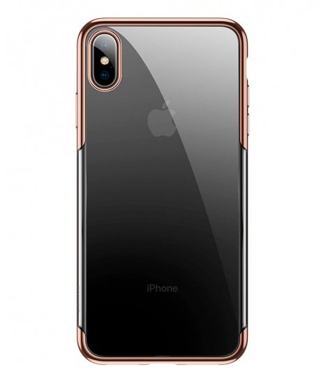 Чехол Baseus для iPhone XS, Shining, Gold
